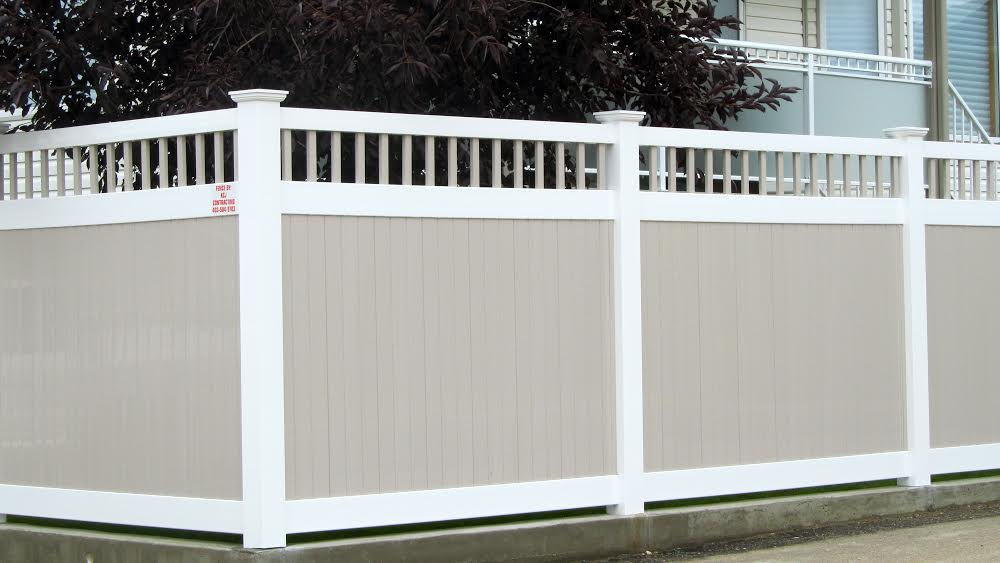 Make your backyard beautiful with vinyl fencing izi concepts