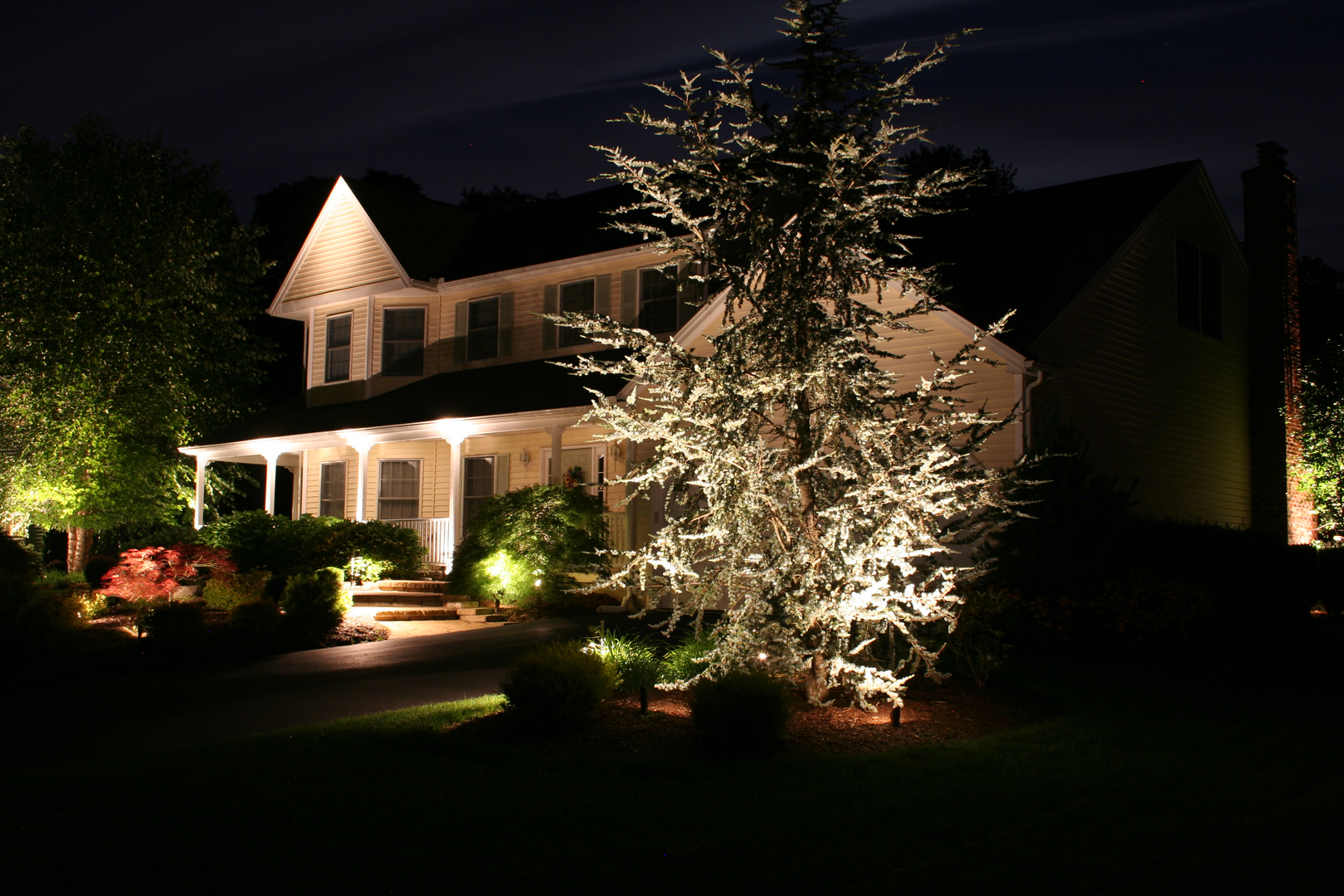 Landscape Lighting Design Ideas unique landscape lighting Allure Design Landscape Lighting