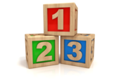 123 blocks logo