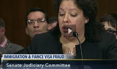 U.S. Senate testimony - immigration fraud