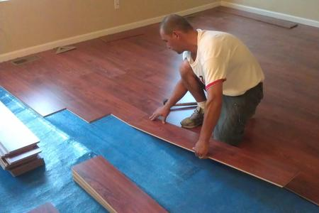 Premium Laminate Floor Installation Services in Las Vegas NV | McCarran Handyman Services