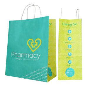 Pharmacy paper bag