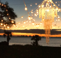 Powel Crosley wedding lighting by Sarasota Wedding Gallery