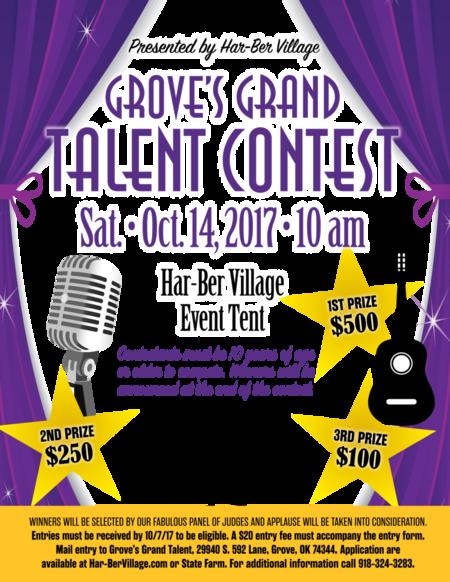 talent show flyer