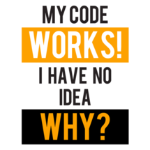 My Code Works Custom Sticker