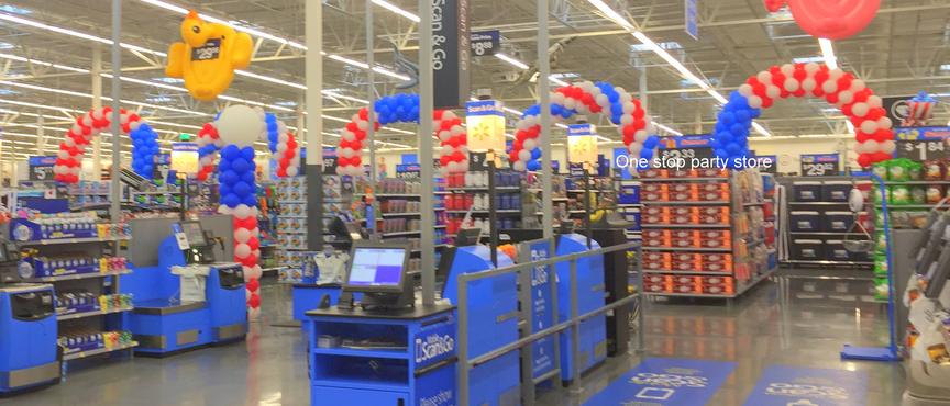 4th July Balloon Archs