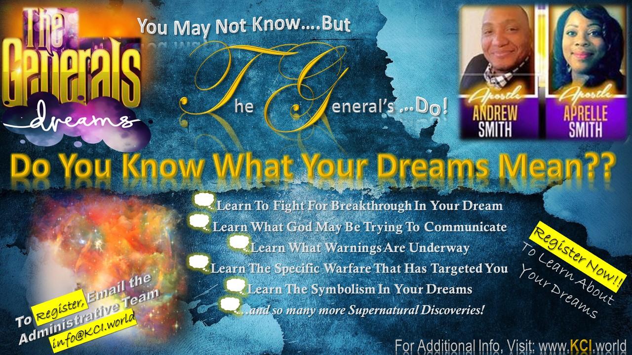 Prophecy Miracles And Apostolic Training - Kingdom Centers international
