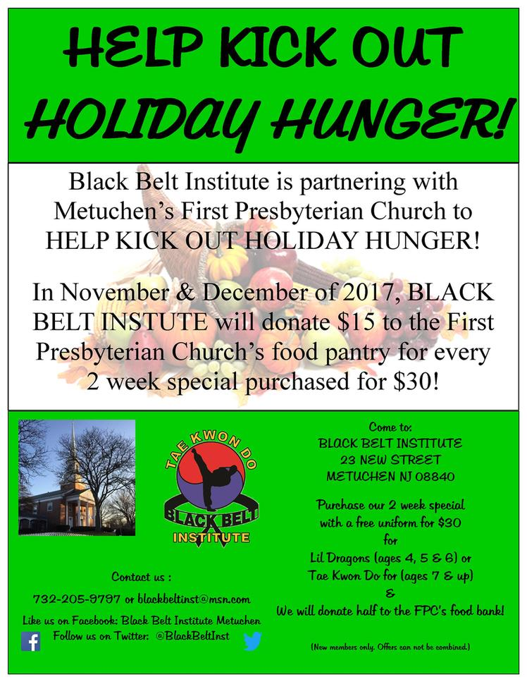 HELP KICK OUT HOLIDAY HUNGER