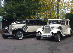 Vintage wedding cars Essex