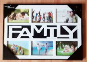 Family multi 5x4 inch Photo Frame
