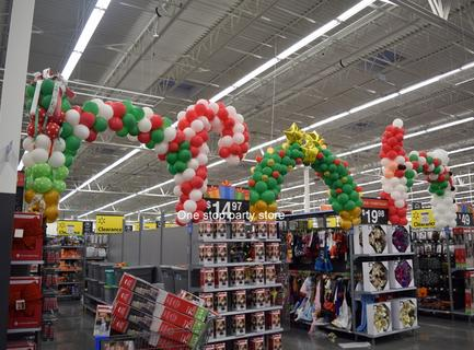 Walmart christmas balloon decorations