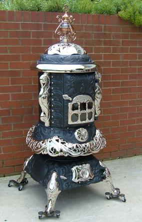 Ginger Creek Antique Stoves Fully Restored Antique