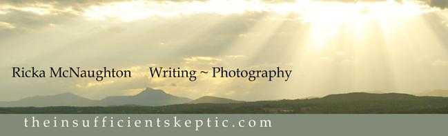 Ricka McNaughton Writing, Photography
