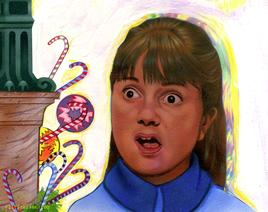 Violet Beauregarde from Willy Wonka and the Chocolate Factory by CLIFF CARSON
