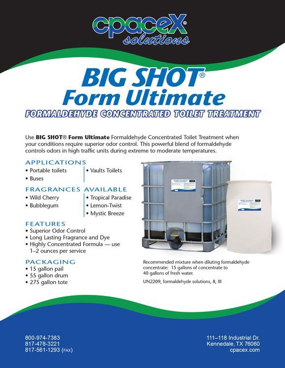 BIG SHOT Form Ultimate – Superior Service Application Form