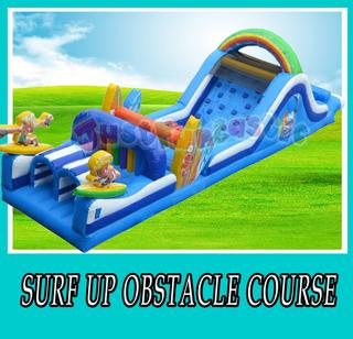 Surfs Up Obstacle Course