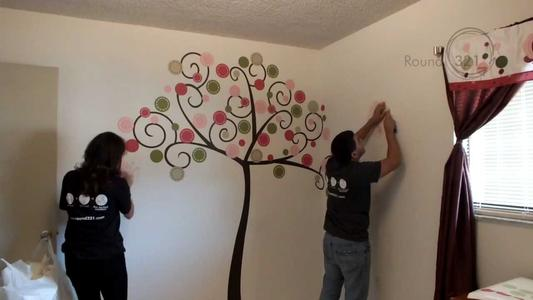 Wall Decal Installation Services and Wall Decal Installer Services Cost in Edinburg McAllen TX | Handyman Services of McAllen