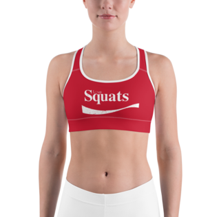 Love Squats Sports Bra