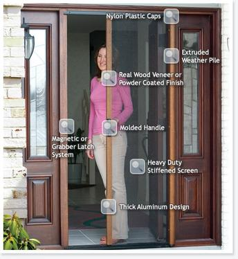patio doors and screens