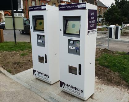 ANPR Pay machine civils groundworks