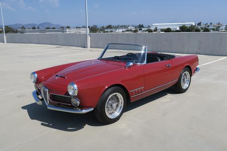 1962 Alfa Romeo 2000 Spider by Touring for sale at Motor Car Company in San Diego California