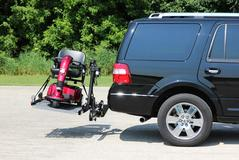 Vehicle lifts for wheelchairs and scooters