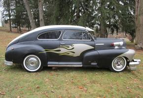 1948 Chevy Fleetline Rat Rod