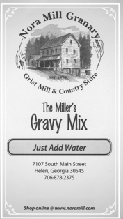 Nora Mill Miller's Gravy Mix