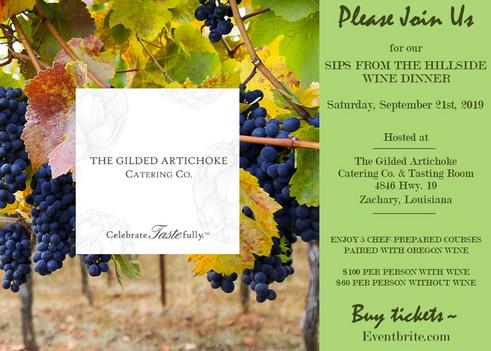 WINE DINNER TICKETS!