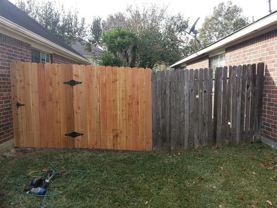 FENCE CONSTRUCTION AND REPAIR SERVICES