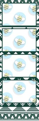Bumblebee Booths Photo Strip sample #34