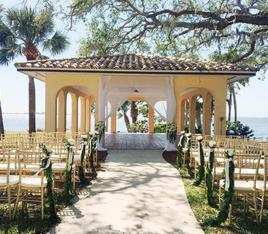 Powe Crosley wedding ceremony by Sarasota Wedding Gallery