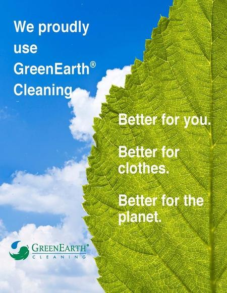 Green Earth Cleaning process