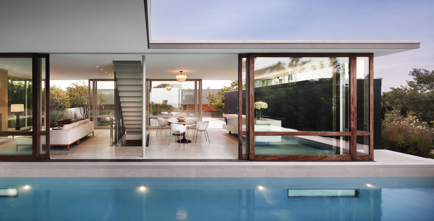 residential glass walls