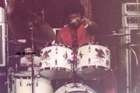 Buddy Miles Drummer Buddy Miles