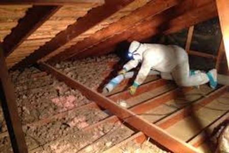 Insulation Removal Attic Cleaning Foam Removal Removing Attic Insulation Service And Cost in Lincoln NE | LNK Junk Removal