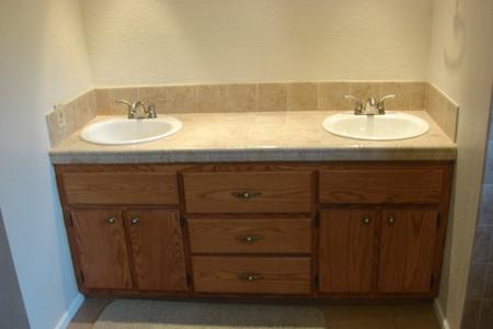 Custom Fit Bathroom Vanities bathroom cabinets - custom woodworking - timberwolf design