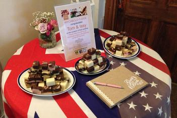 Wychbold Fudge for luxury homemade fudge gifts, bespoke wedding favours and party boxes
