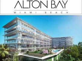 Miami Real Estate; Miami Beach; Alton Bay Condominium; New Construction