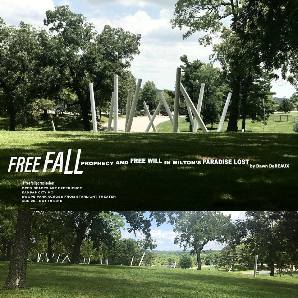 Kansas City Open Spaces Art Highlights Dawn DeDeaux FREE FALL