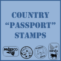 Country Passport Stamps