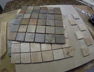 How To Make A Easy Diy Ceramic Tile Chess Or Checkers Board