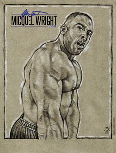 MICQUEL WRIGHT by Cliff Carson