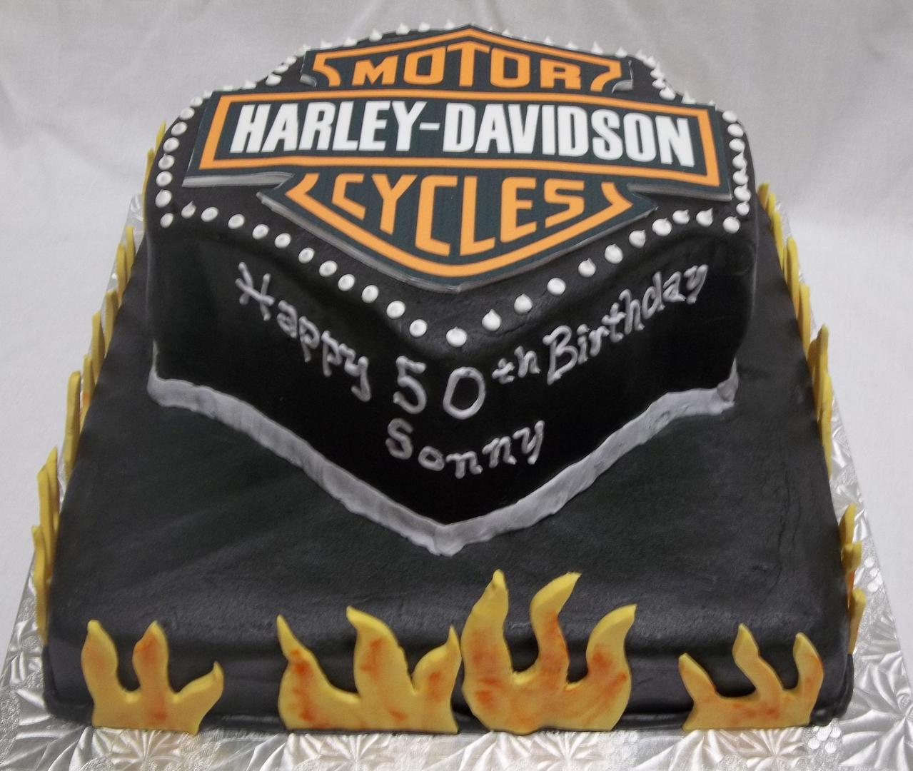 Harley Davidson Cake Decorations Mens Cakes 1 Trucks Cars Planes Train Tools Welding