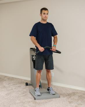 hydraulic fitness and rehab machines like quantum upright row