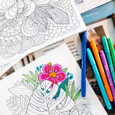 adult coloring free printable pages