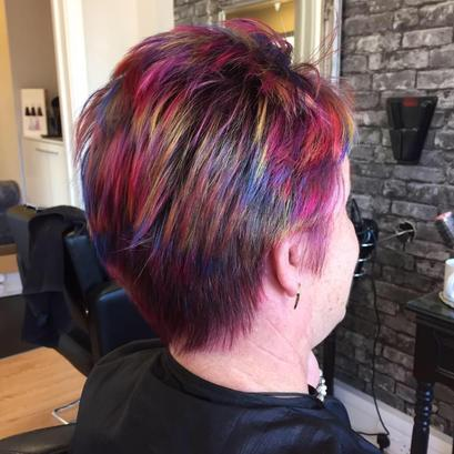 Creative Colour Precision Salon Multi Coloured Hair Rayleigh Eastwood Essex