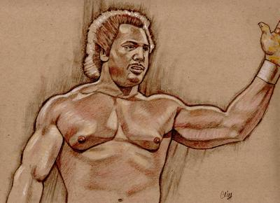 RON SIMMONS by Cliff Carson