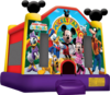 Mickey park and friends bounce house