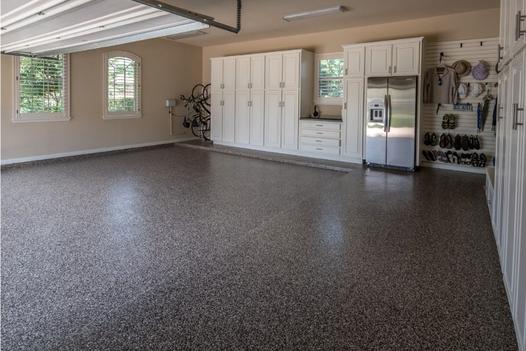 Garage Floor Coating Services and Cost | Lincoln Handyman Services